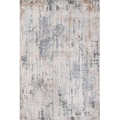 Dalston Gray Abstract  Rug