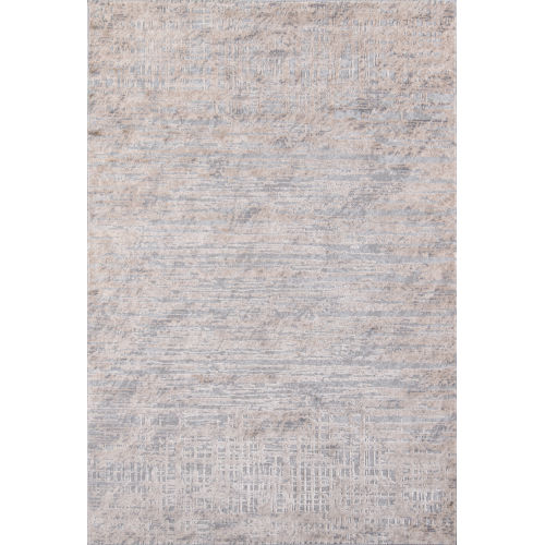 Dalston Abstract Gray Rectangular: 8 Ft. 6 In. x 13 Ft. Rug