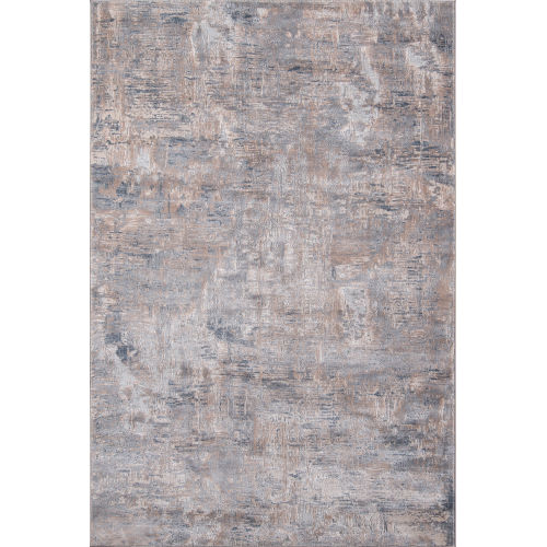 Dalston Marble Gray Rectangular: 5 Ft. 3 In. x 7 Ft. 6 In. Rug