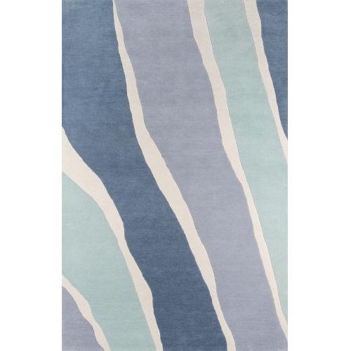 Delmar Sorbet Blue Rectangular: 9 Ft. x 12 Ft. Rug