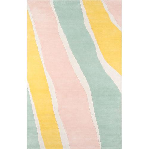 Delmar Sorbet Multicolor Rectangular: 8 Ft. x 10 Ft. Rug