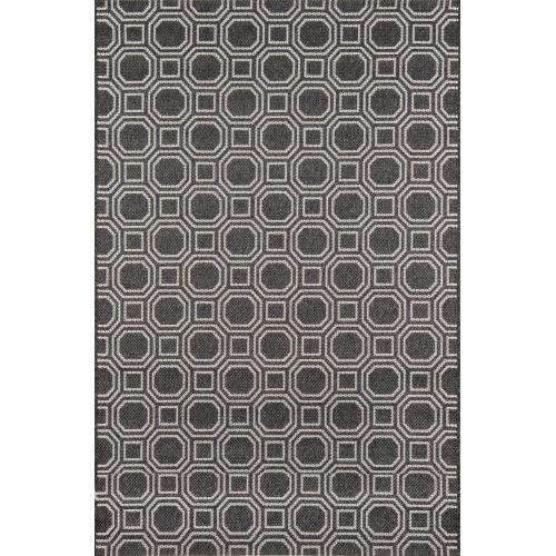 Downeast Camden Charcoal Rectangular: 3 Ft. 11 In. x 5 Ft. 7 In. Rug