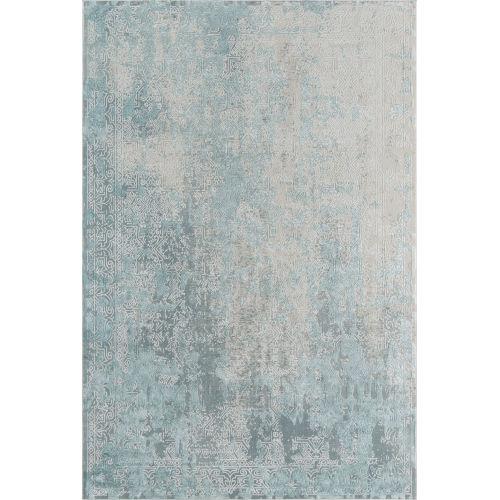 Genevieve Light Blue Rectangular: 8 Ft. 11 In. x 12 Ft. 6 In. Rug