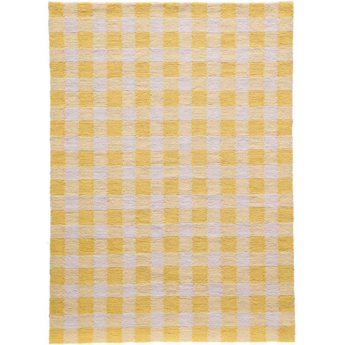 Geo Yellow  Rug
