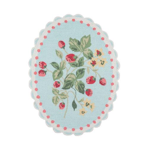 Get Smart Cherie Berry Multicolor Rectangular: 3 Ft. x 4 Ft. Rug