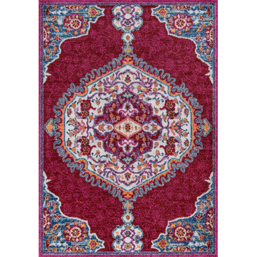 Haley Red Rectangular: 3 Ft. 11 In. x 5 Ft. 7 In. Rug