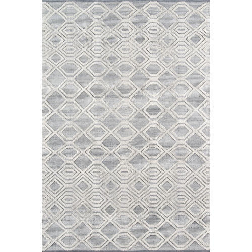 Hermosa Gray Rectangular: 7 Ft. 9 In. x 9 Ft. 9 In. Rug