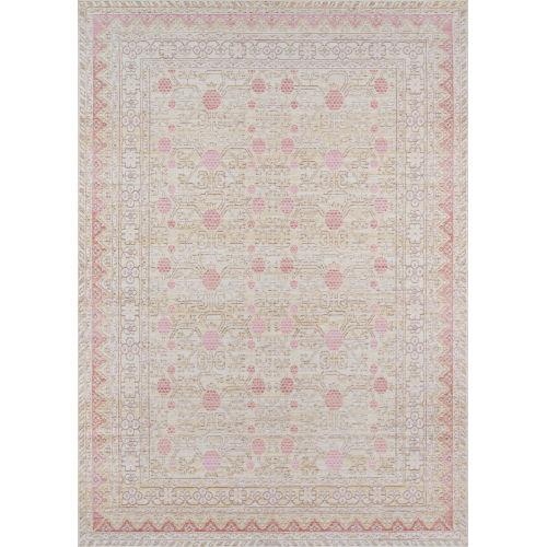 Isabella Oriental Pink Rectangular: 4 Ft. x 6 Ft. Rug