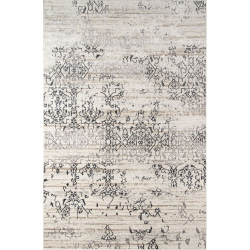 Juliet Distressed Ivory Rectangular: 5 Ft. x 7 Ft. 6 In. Rug