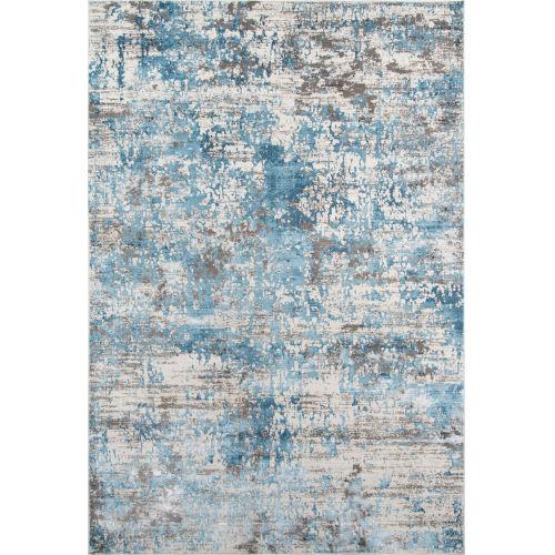 Juliet Abstract Blue Rectangular: 3 Ft. 3 In. x 5 Ft. Rug