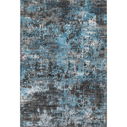 Juliet Abstract Charcoal  Rug