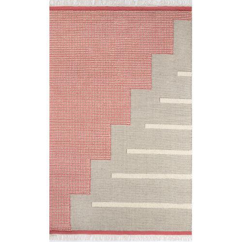 Karl Pink Rectangular: 7 Ft. 9 In. x 9 Ft. 9 In. Rug