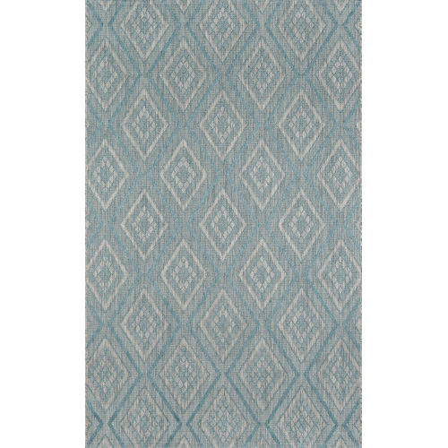 Lake Palace Light Blue Indoor/Outdoor Rug