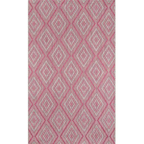 Lake Palace Pink Rectangular: 7 Ft. 10 In. x 10 Ft. 10 In. Rug