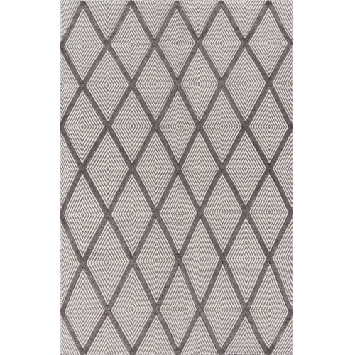 Langdon Charcoal Rectangular: 7 Ft. 6 In. x 9 Ft. 6 In. Rug