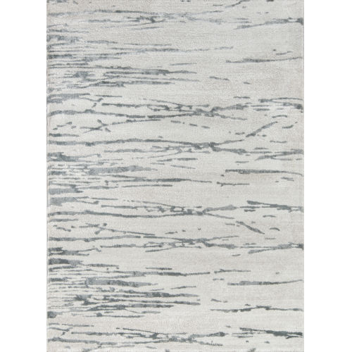 Matrix Abstract Gray Rectangular: 9 Ft. 10 In. x 12 Ft. 10 In. Rug