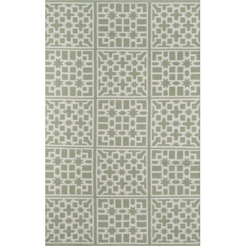 Palm Beach Lake Trail Green Indoor/Outdoor Rug