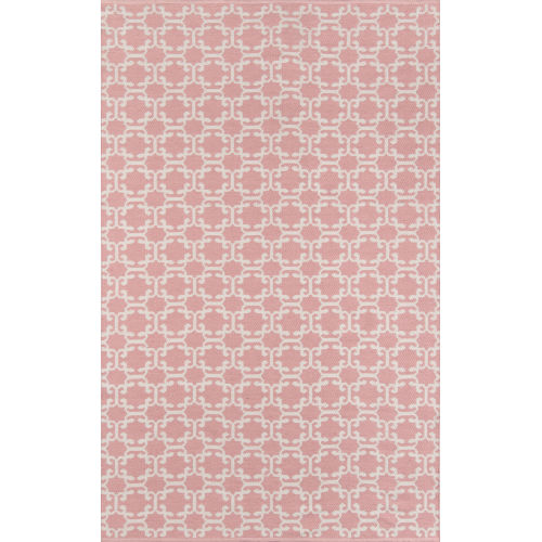 Palm Beach Via Mizner Pink Indoor/Outdoor Rug