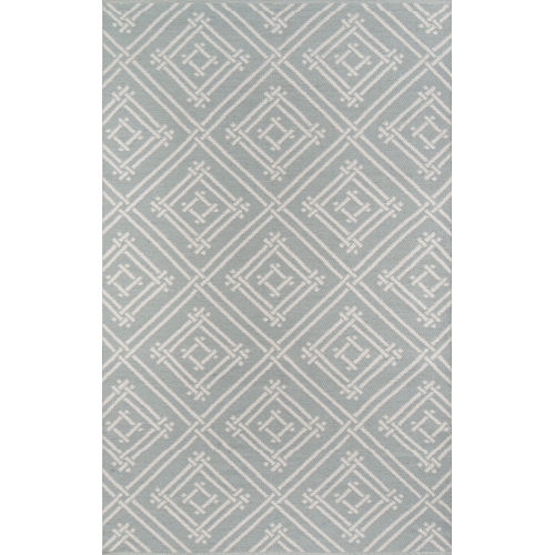 Palm Beach Gray Rectangular: 7 Ft. 6 In. x 9 Ft. 6 In. Rug
