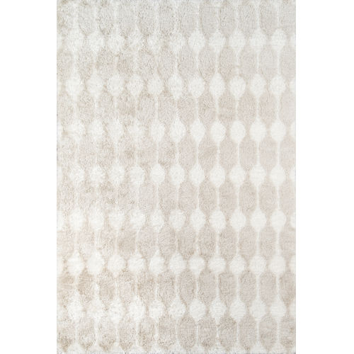 Retro Taupe Rectangular: 7 Ft. 6 In. x 9 Ft. 6 In. Rug