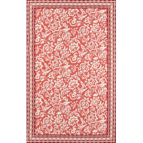 Rokeby Road Red Pink Indoor/Outdoor Rug