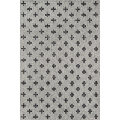 Villa Umbria Gray Rectangular: 7 Ft. 10 In. x 10 Ft. 10 In. Rug