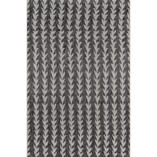 Villa Amalfi Charcoal Rectangular: 9 Ft. 3 In. x 12 Ft. 6 In. Rug
