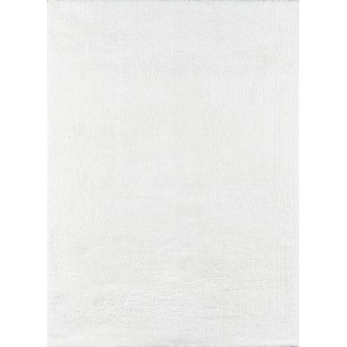 Velvet Shag White  Rug