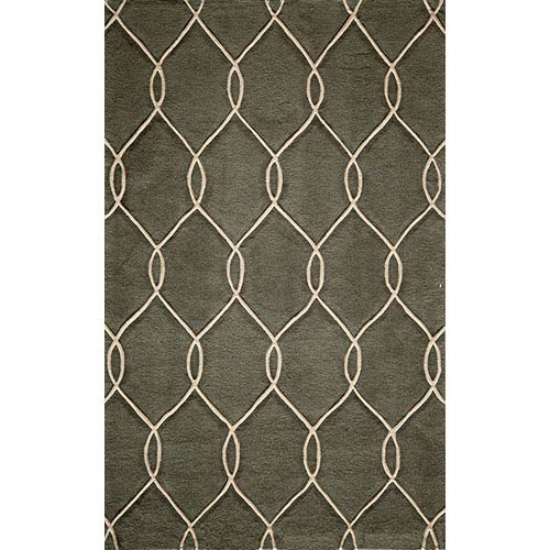 Momeni Bliss Steel Rectangular: 5 Ft. x 7 Ft. 6 In. Rug Rug
