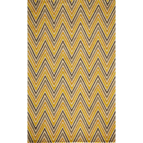 Delhi Yellow Runner: 2 Ft. 3 In. x 8 Ft. Rug Rug