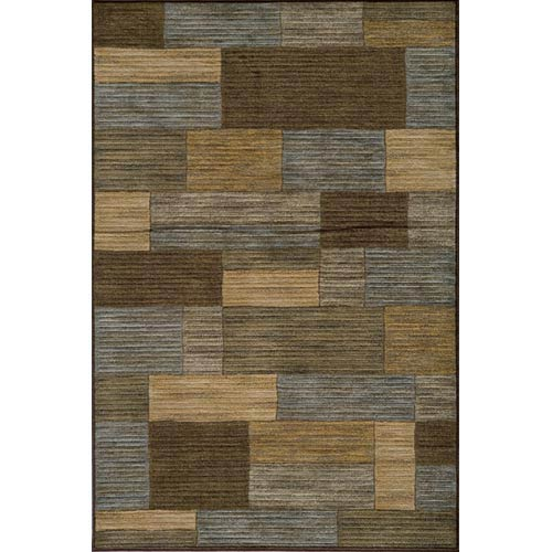 Momeni Dream Brown Rectangular: 5 ft. 3 in. x 7 ft. 6 in. Rug