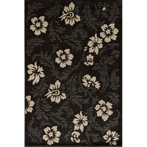 Dream Charcoal Rectangular: 5 ft. 3 in. x 7 ft. 6 in. Rug