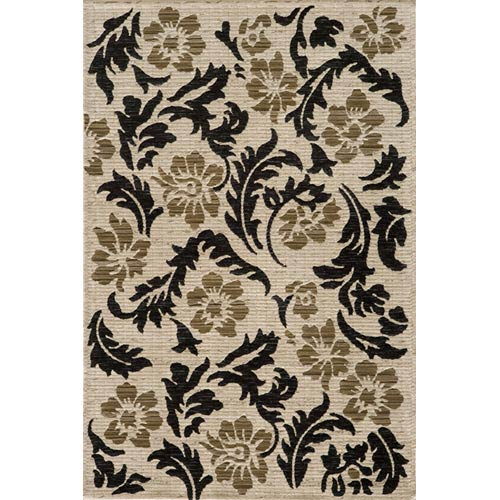 Momeni Dream Ivory Rectangular: 5 ft. 3 in. x 7 ft. 6 in. Rug