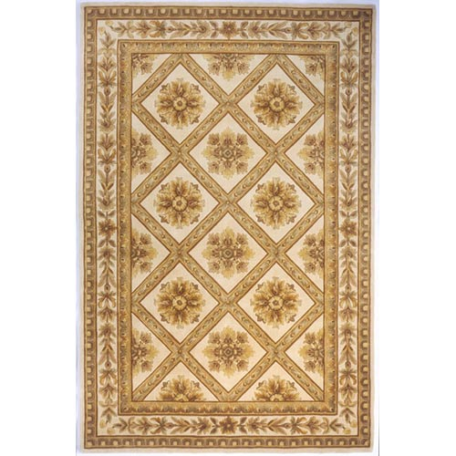 Maison Ivory Rectangular: 3 ft. 6 in. x 5 ft. 6 in. Rug