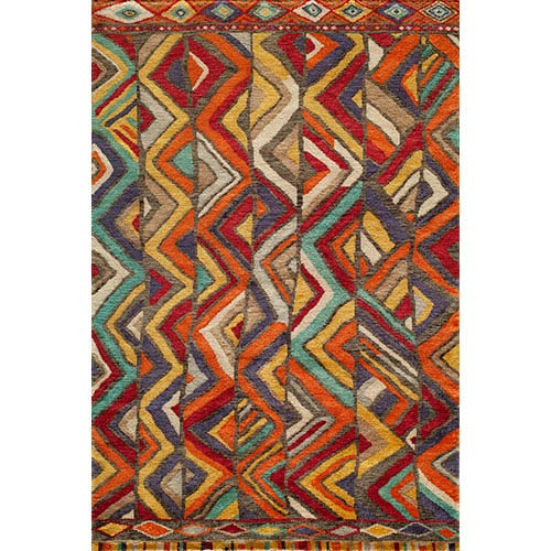 7787a809ee31 Madagascar Multi-Colored Rectangular  5 Ft. 6 In. x 8 Ft.