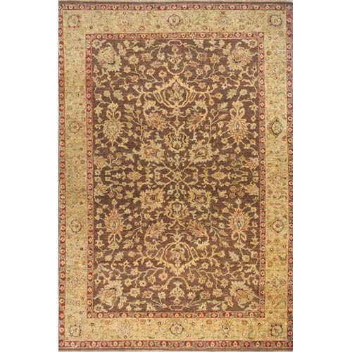 Momeni Palace Chocolate Rectangular: 5 Ft. 6 In.  x 8 Ft. 6 In. Rug