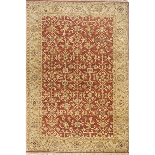 Momeni Palace Rust Rectangular: 5 Ft. 6 In.  x 8 Ft. 6 In. Rug