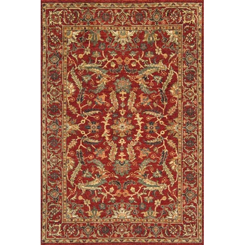 Momeni Palace Red Rectangular: 5 Ft. 6 In.  x 8 Ft. 6 In. Rug
