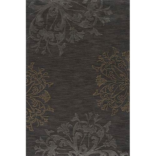 Momeni Sensations Charcoal Rectangular: 5 ft. x 7 ft. 6 in. Rug