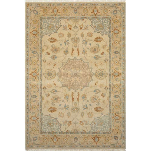 Momeni Shalimar Beige Rectangular: 5 Ft. 6 In.  x 8 Ft. 6 In. Rug