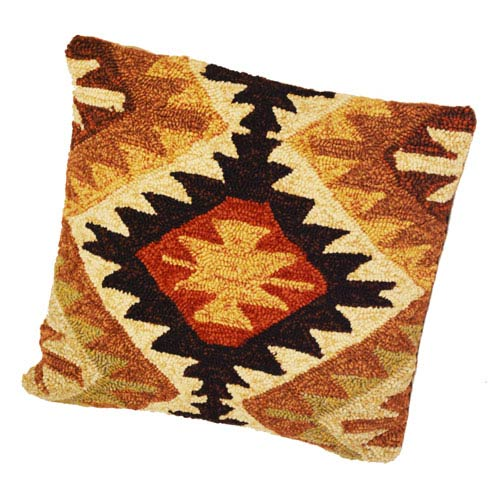 Veranda Black 16-Inch Pillow