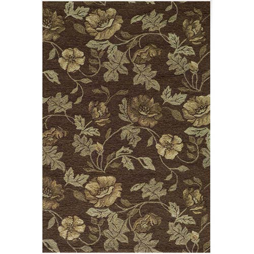 Momeni Veranda Brown Rectangular: 5 ft. x 8 ft. Rug