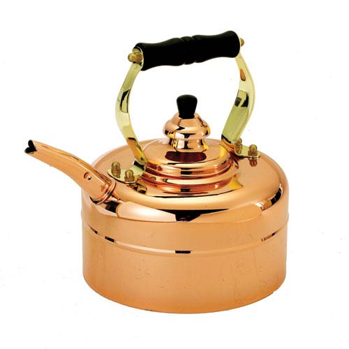 Copper Windsor Whistling Teakettle