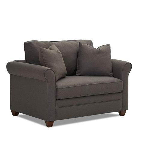 Klaussner Furniture Dopler Innerspring Chair Sleeper 012013376904