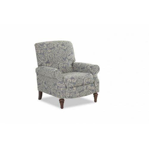 Upton Indigo High Leg Reclining Chair