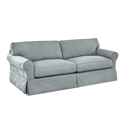 Olivia Down Blend Slipcovered Sofa