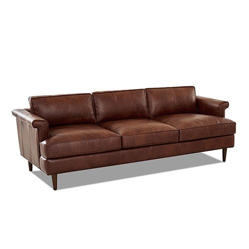 Malcolm Leather Down Blend Sofa