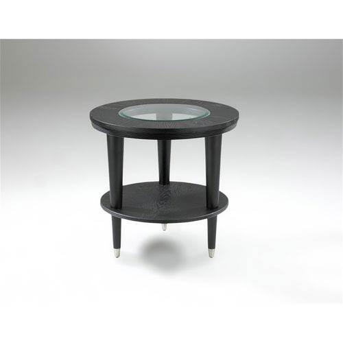 Ontario Black End Table