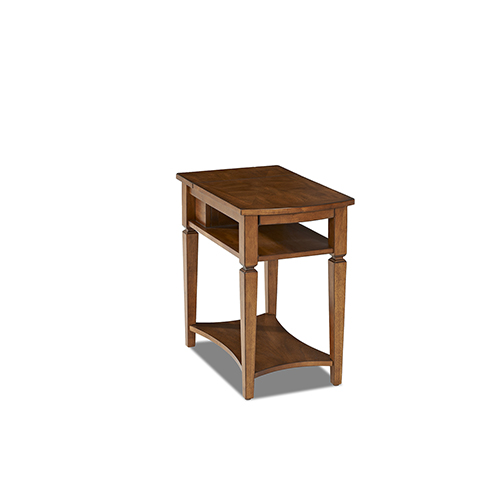 Wentworth Chairside Table with Power Box