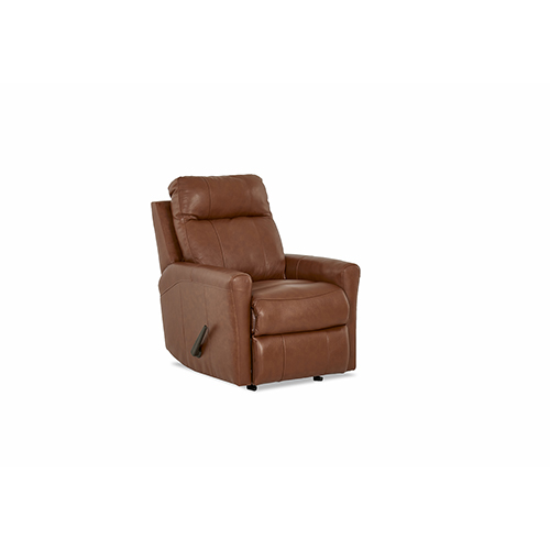 Ikon Leather Reclining Rocking Chair